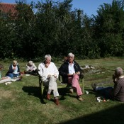 Picnic in the Church Grounds